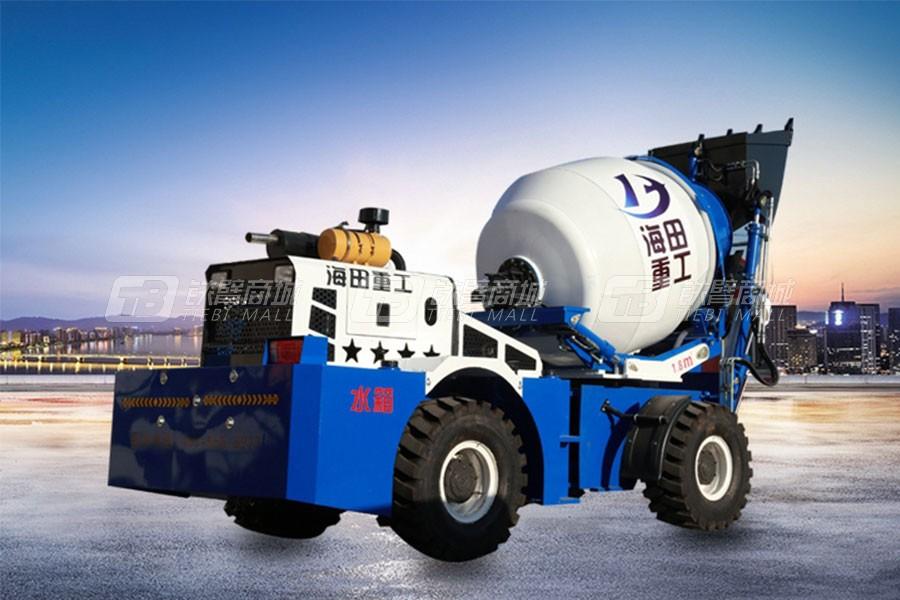 海田重工1.8立方混凝土搅拌运输车