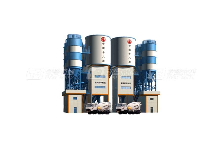新宇HLS60/HLD60混凝土搅拌站