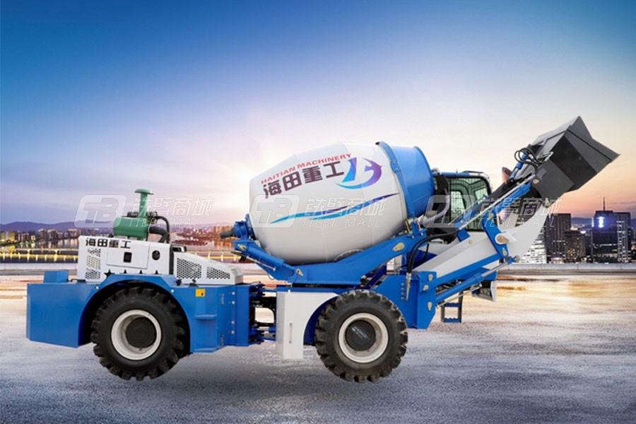 海田重工2.6立方混凝土搅拌运输车(单轮)
