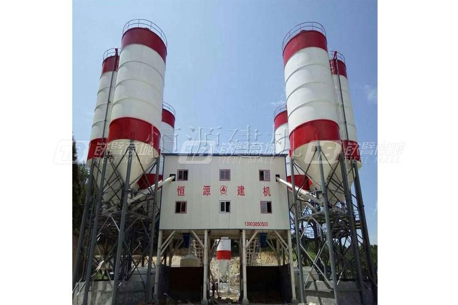 恒源建机HZS120混凝土搅拌站