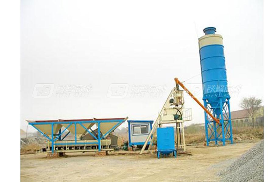 恒源建机HZS50/ HZS60混凝土搅拌站