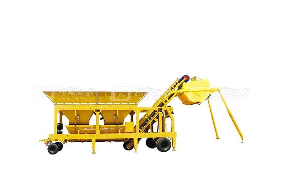祥达WBSY300移动式稳定土厂拌设备