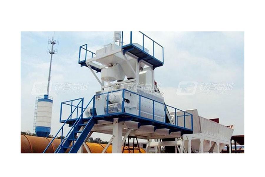 祥达YHZS75移动式混凝土搅拌设备(公路型)