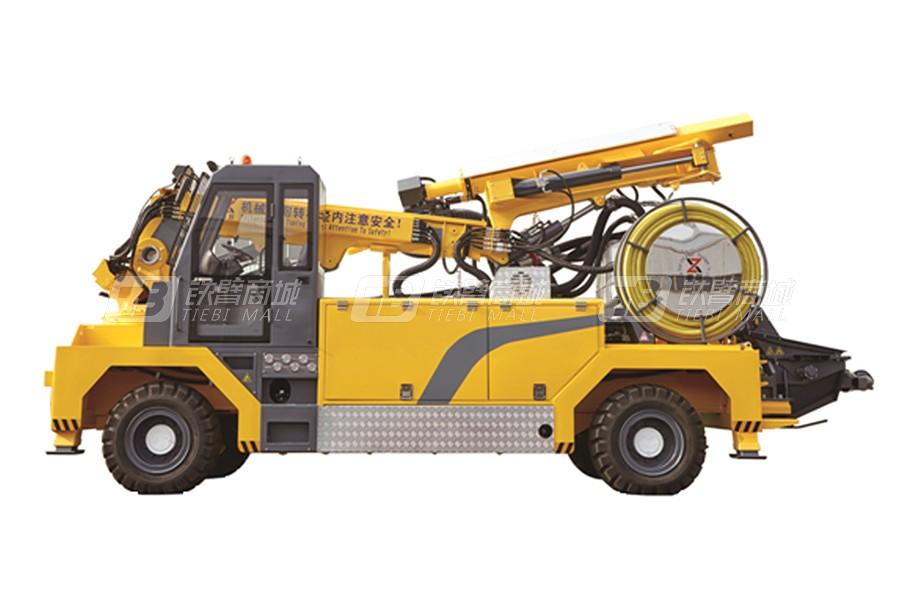 新筑智裝XZPS25混凝土濕噴臺車