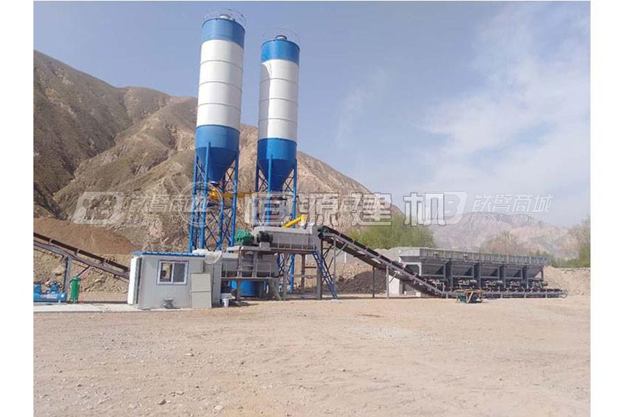 恒源建机WBZ700稳定土厂拌设备