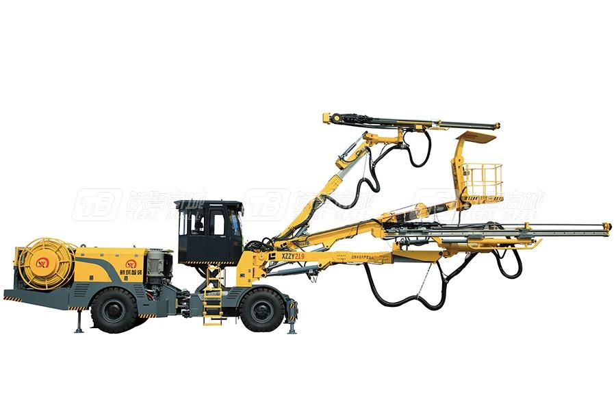 新筑智装XZZY凿岩系列两臂凿岩台车