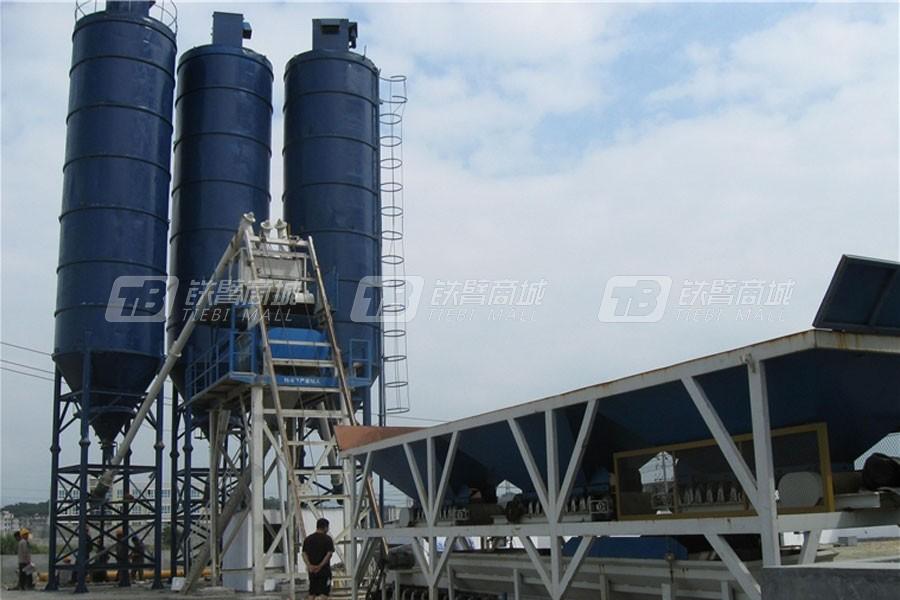 祥达HZS75T快装式混凝土搅拌设备(公路型)