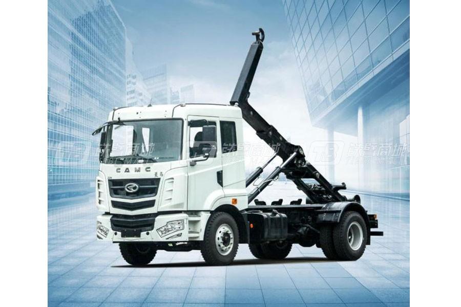 华菱星马AH5160ZXXOL5车厢可卸式垃圾车(拉臂式)