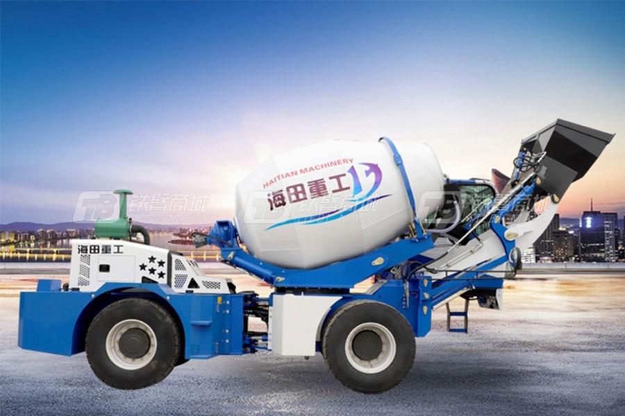 海田重工3.2立方混凝土搅拌运输车(双轮)