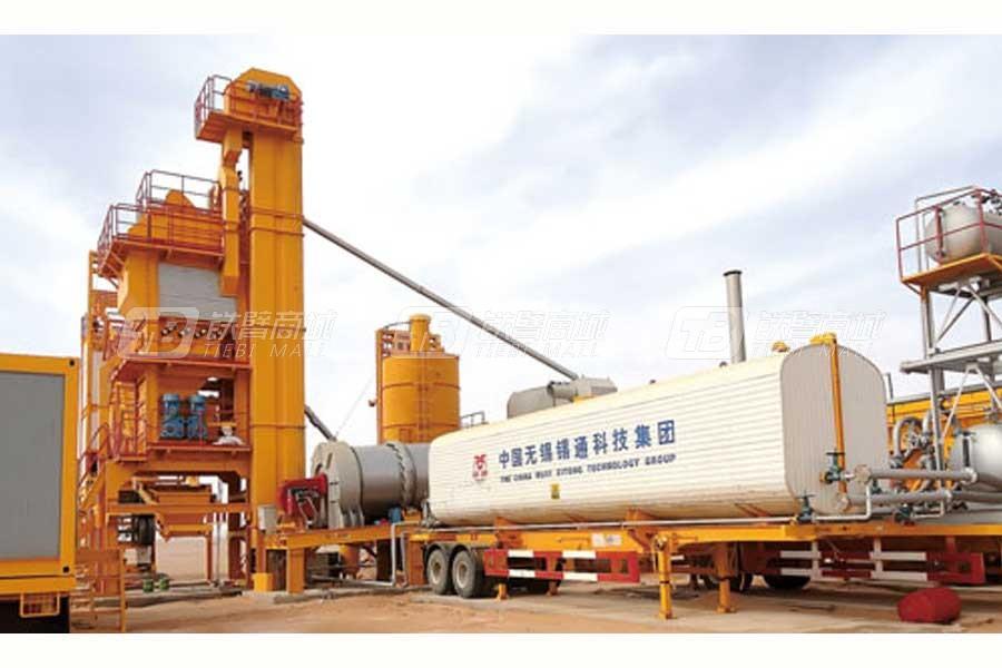 锡通QLB-Y1500型移动式沥青混合料搅拌设备