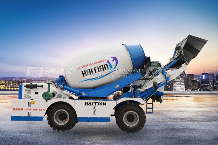 海田重工4.0立方混凝土搅拌运输车