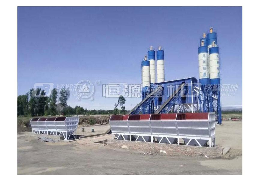 恒源建机HZS120/2HZS120混凝土搅拌站