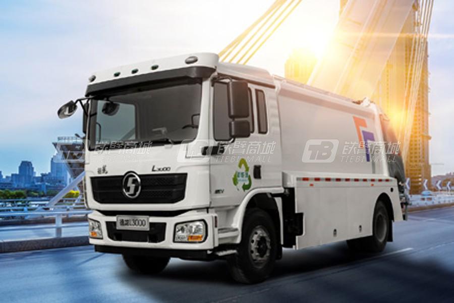 陕重汽L3000混合动力环卫垃圾车