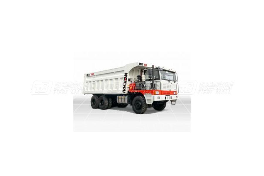 潍柴特种车YZT3680港口70矿用卡车