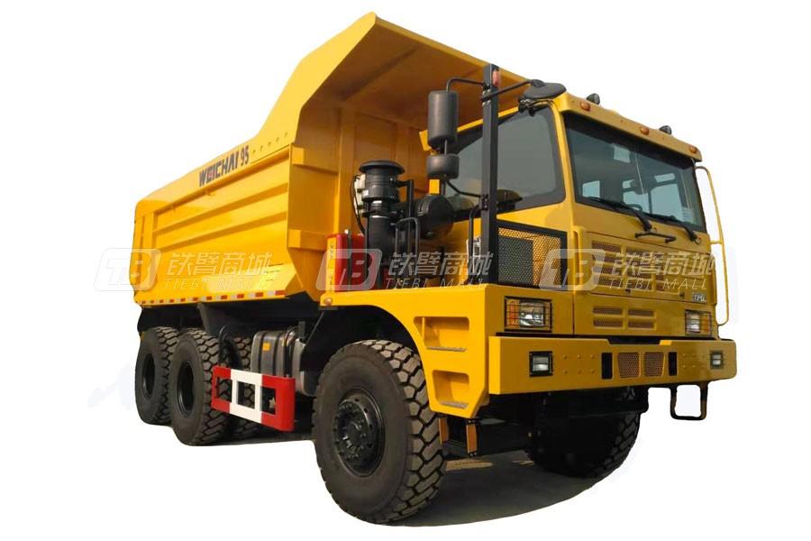 潍柴特种车YZT3951左置矿用卡车