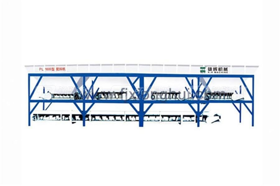 雄辉PL1600Y泉州混凝土配料机