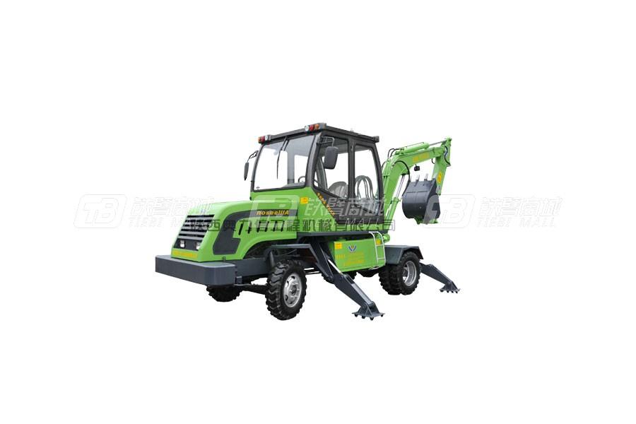 奥力信AWL7038-3轮式挖掘机