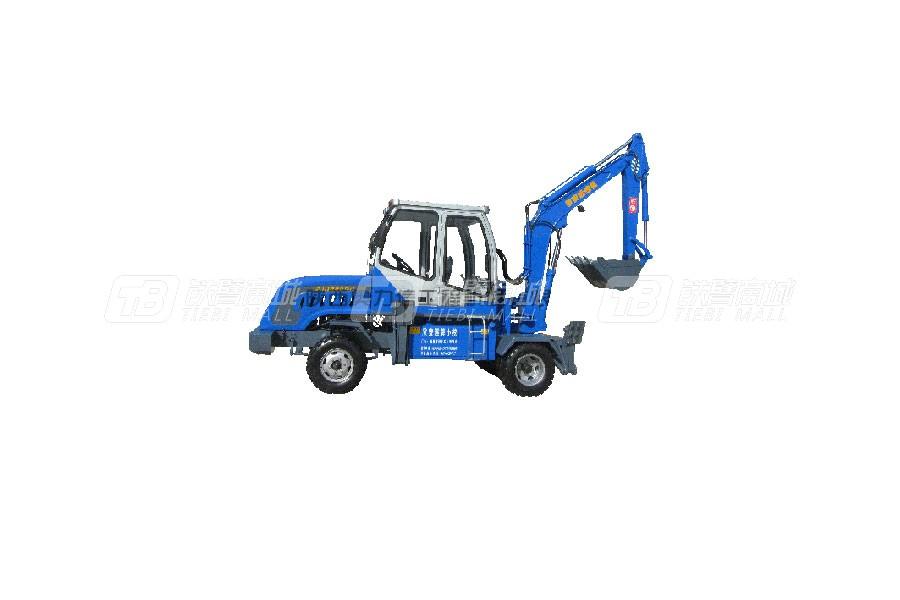 奥力信AWL6535-3轮式挖掘机