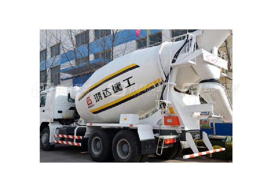 铁力士HDT5256GJB混凝土搅拌运输车