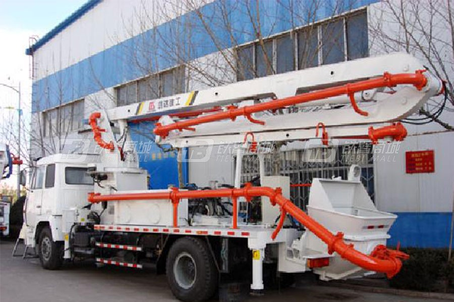 铁力士HDT5292THB-37/4喷漆后混凝土臂架泵车