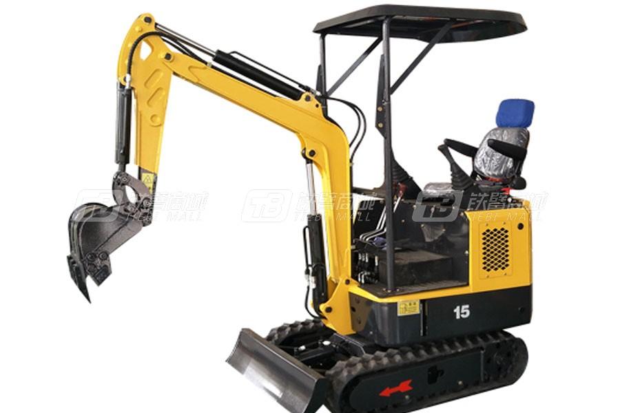 宜迅YX-15小型田园农用挖掘机