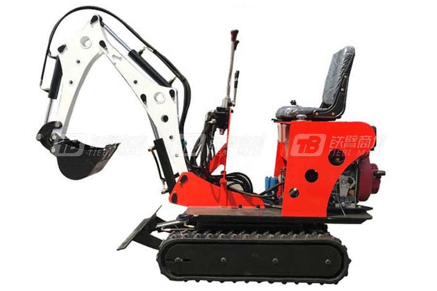 宜迅YX-08农挖履带挖掘机
