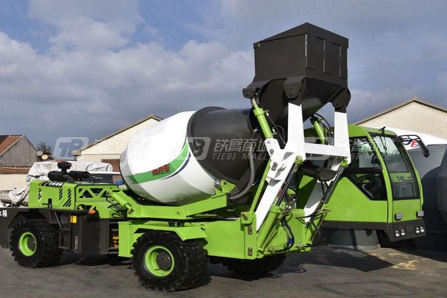 宜迅YX-ZS2F混凝土搅拌运输车