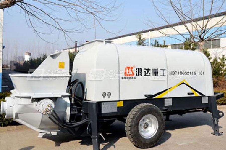 铁力士HBT100S2116-181混凝土输送泵