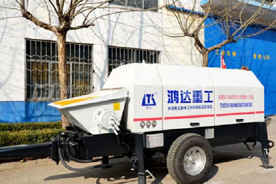 铁力士HBT40D1206-55混凝土输送泵