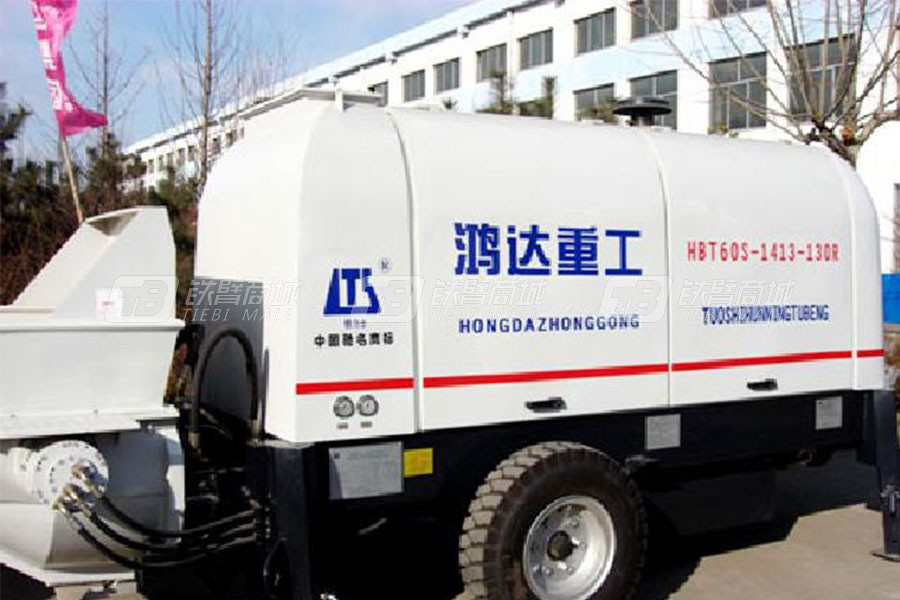 铁力士HBT60S1413-130R混凝土输送泵