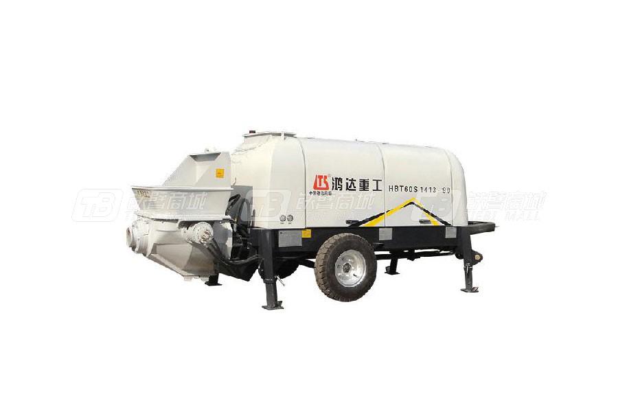 铁力士HBT60S1413-90拖式混凝土输送泵