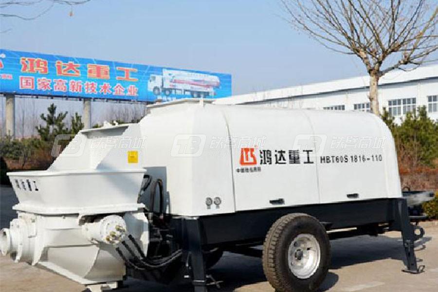 铁力士HBT60S1816-110混凝土输送泵