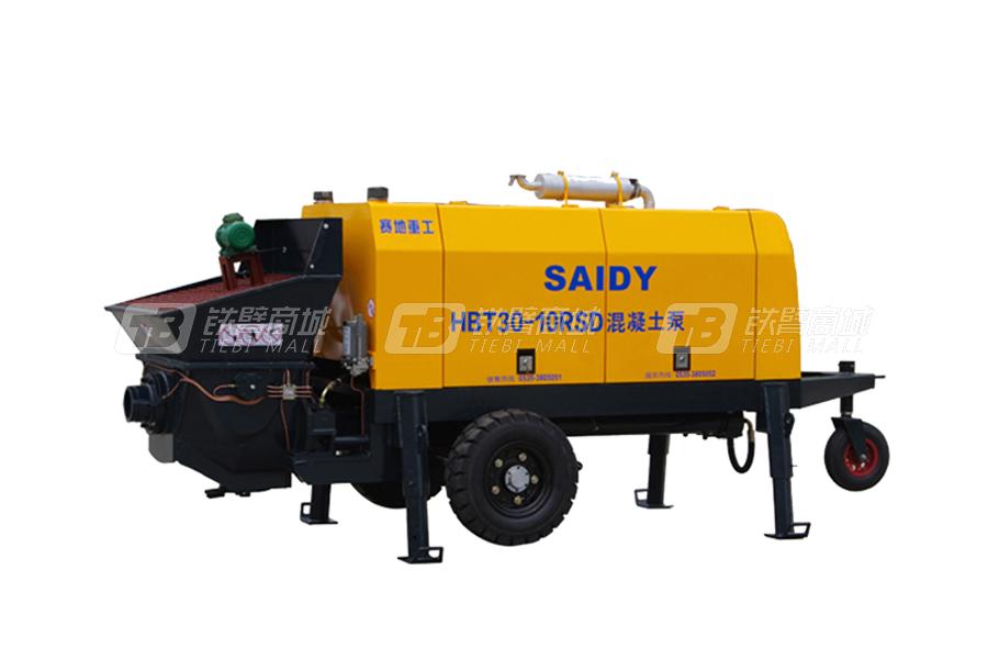 赛地重工HBT80-11RSD柴油机动力混凝土泵