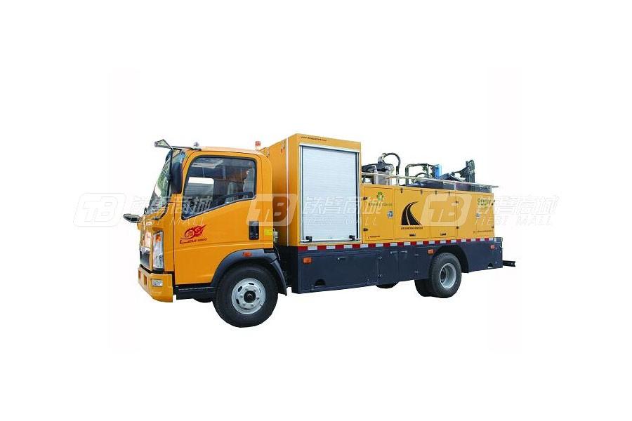 圣岳SDZ5107TXBE沥青路面热再生修补车