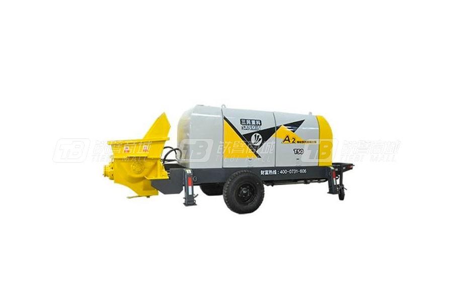 三民重科HBT50-10-83R柴油动力小型输送泵