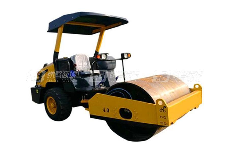 山联重科LY-4.0T单钢轮压路机