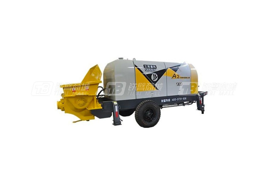 三民重科HBT30-7-37小型(大骨料)混凝土泵