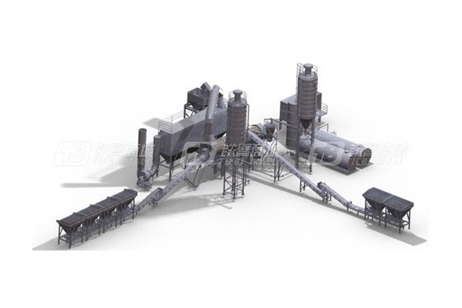 辽原筑机CDHB-80连续式沥青搅拌站