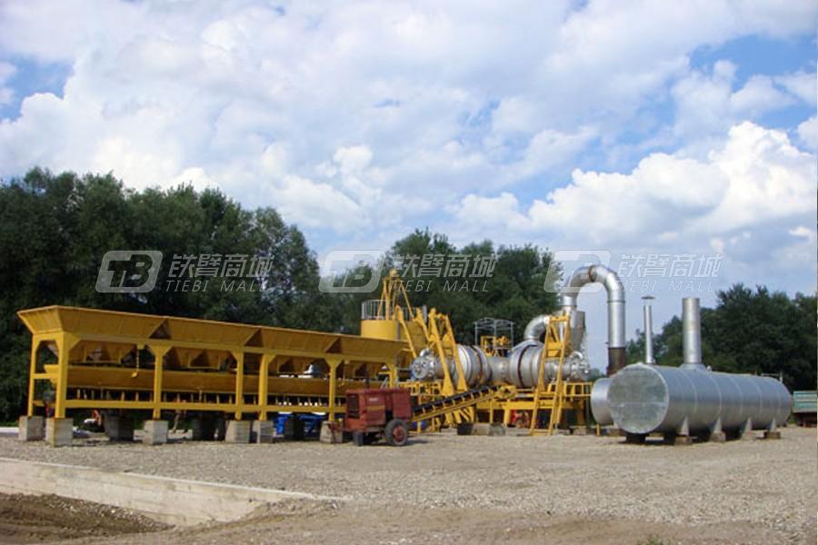 辽原筑机QLB-80移动式沥青搅拌设备