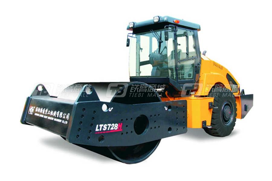 洛阳路通LTD718H全液压单钢轮双驱振动压路机