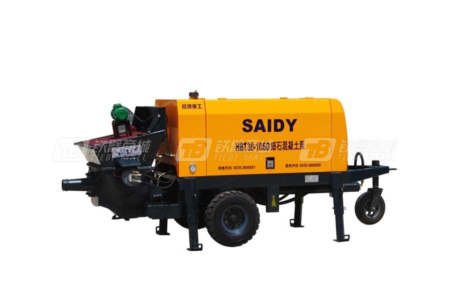 赛地重工HBT15-13SD电机动力细石混凝土泵