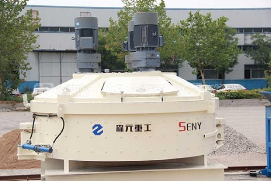 森元重工SYN3750/2500立轴行星式搅拌主机