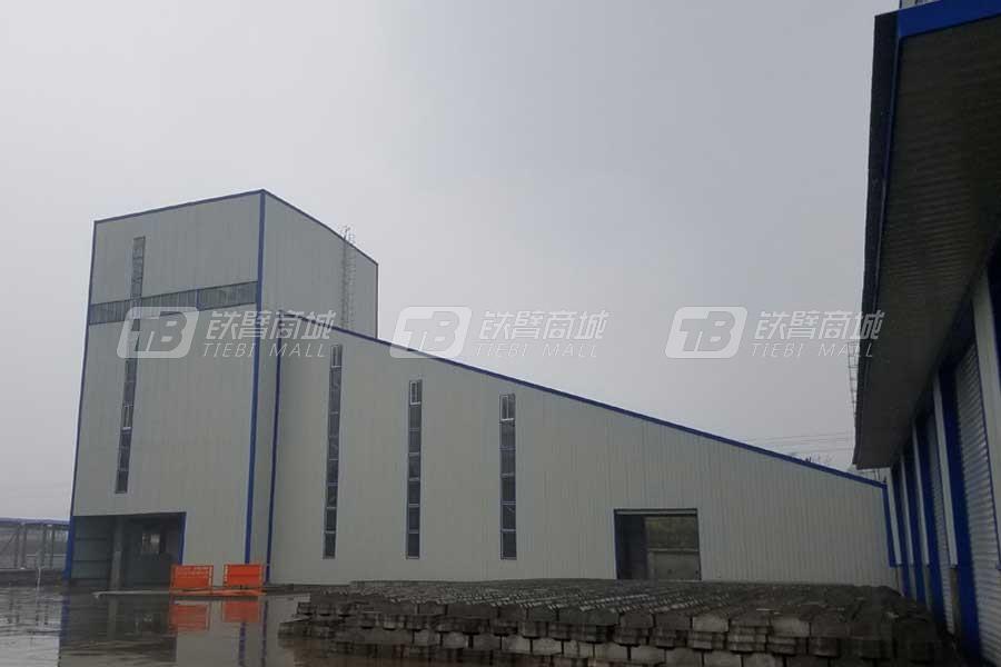 森元重工HLS180全环保型混凝土搅楼
