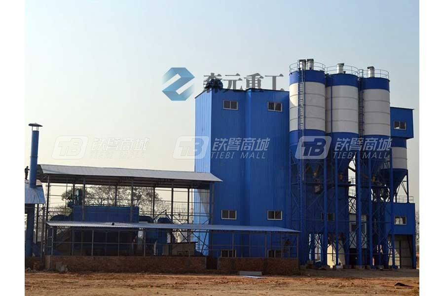 森元重工GCSZ40阶站式干混(粉)砂浆搅拌站