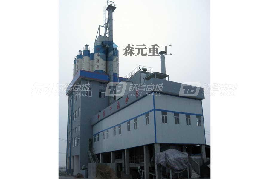 森元重工GCSL40塔楼式干混(粉)砂浆搅拌站
