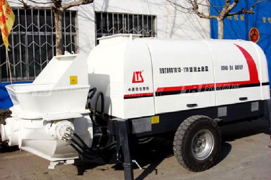 铁力士HBT80S1813-110混凝土输送泵