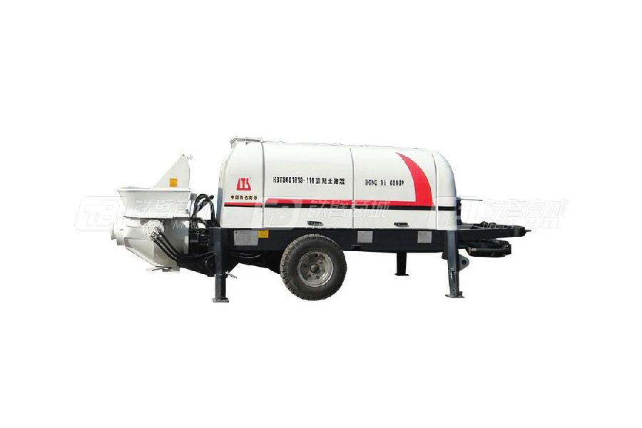 铁力士HBT80S1813-110拖式混凝土输送泵