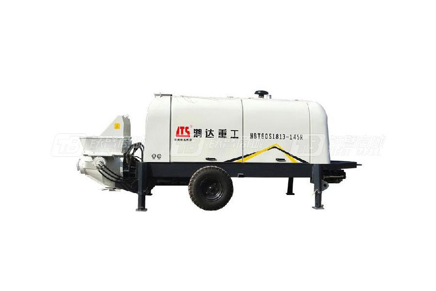 铁力士HBT80S1813-145R拖式混凝土输送泵