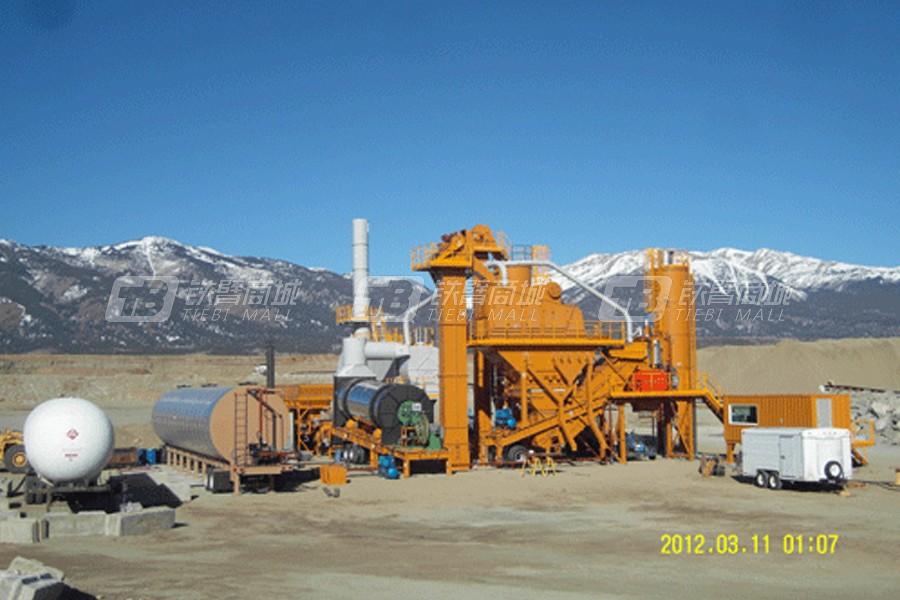 斯贝柯TSAP-1000P移动式沥青混凝土搅拌站