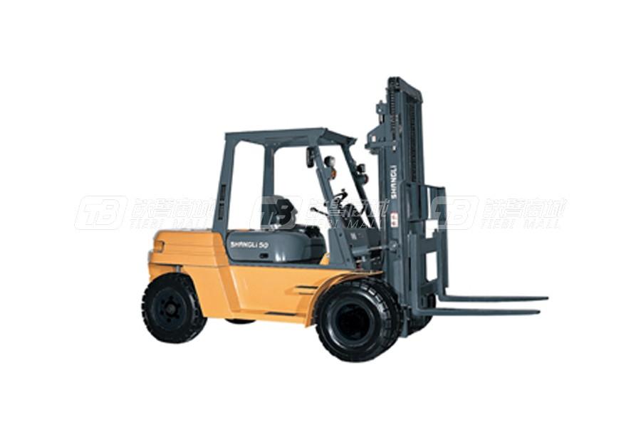 上力重工CPCD60SY内燃平衡重叉车